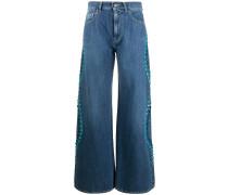 P.A.R.O.S.H. 'Ceans' Jeans mit weitem Bein