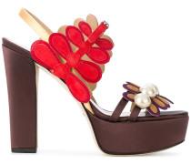 'Rosaline' Sandalen mit Plateausohle