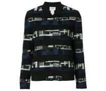 Gewebte Jacke mit geometrischem Muster