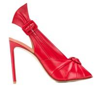 Slingback-Sandalen mit Stiletto-Absatz