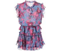 Lilian floral-print mini dress