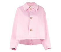 boxy fit jacket - women - Baumwolle/Elastan - 40