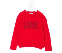 """Pullover mit """"Love""""-Stickerei"""
