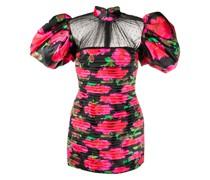 Kleid mit Tülleinsatz