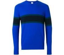 Kaschmir-Pullover mit Streifen
