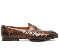 Penny-Loafer mit Webmuster