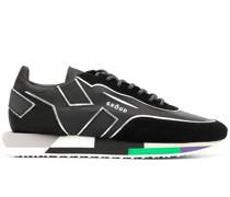 Sneakers mit Metallic-Details