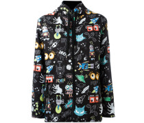 - Regenjacke mit Cartoon-Print - women