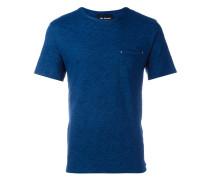 T-Shirt mit Totenkopf-Applikationen