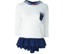 sailor collar knit top