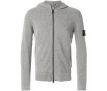 zip front hoodie