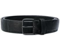 stitched detail belt