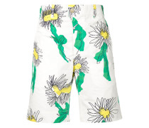 Shorts mit floralem Design