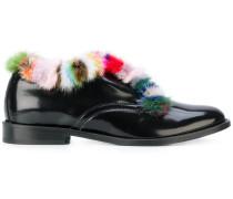 Loafer mit Fellbesatz