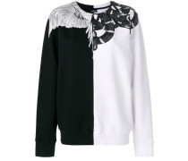 Snakes and Wings Crew Neck sweatshirt