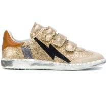 lightning strap sneakers