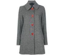 Mantel mit Herz-Knöpfen