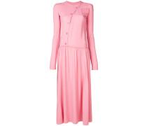 Kleid mit asymmetrischer Knopfleiste