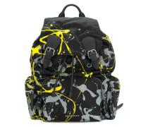 paint splatter rucksack