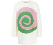 intarsia-pattern jumper