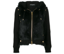 studded shearling jacket - Unavailable