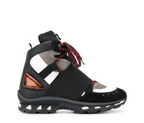 High-Top-Sneakers in Colour-Block-Optik - men