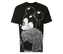 T-Shirt mit Micky-Maus-Print