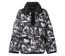 ski print jacket