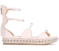 - Sandalen mit Nietenverzierung - women - Leder
