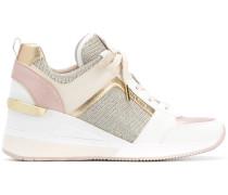 Wedge-Sneakers mit Einsätzen