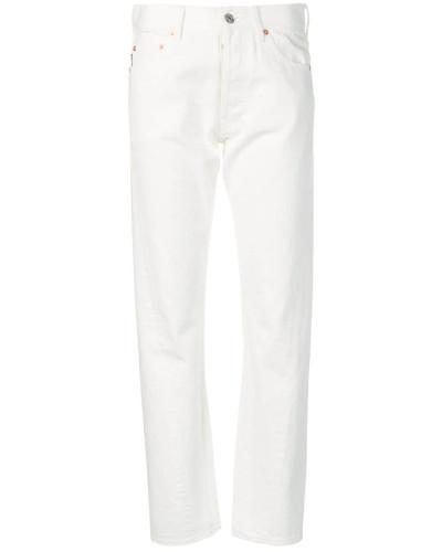Jeans mit asymmetrischen Nähten