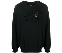 Sweatshirt mit geteiltem Logo