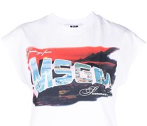 logo-print short-sleeve T-shirt