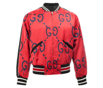 GucciGhost print bomber jacket