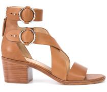cross strap sandals - women - Leder - 36