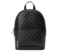 Signature leather backpack