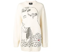 'Warhol' Intarsien-Pullover