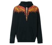 Flame Wings hooded sweatshirt