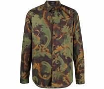 Hemd mit Baroccoflage-Print