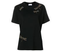 embellished dragonfly T-shirt