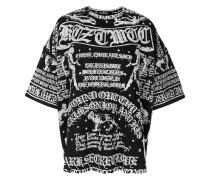 'Poet' Oversized-T-Shirt mit Print