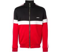 Sweatshirtjacke in Colour-Block-Optik - men