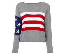 Oberteil mit USA-Flagge