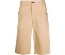 Chino-Shorts mit hohem Bund