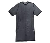 Seidenhemd in Oversized-Passform
