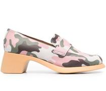 x Ssense Loafer mit Camouflage-Print