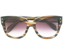 Runde Sonnenbrille - women - Acetat - 57