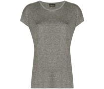 T-Shirt mit Metallic-Details
