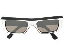 Sonnenbrille mit geometrischem Design