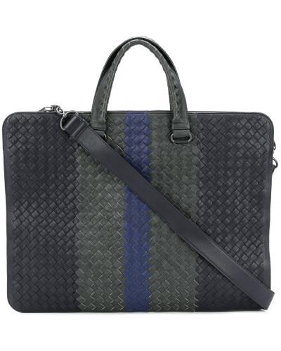 Bottega Veneta Herren Gewebte Laptop-Handtasche